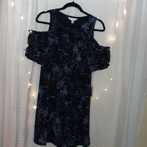 LC LAUREN CONRAD Cold shouldered dress NWT